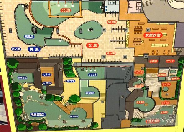 霧島いわさきホテル 宿泊 その3 館内大浴場編