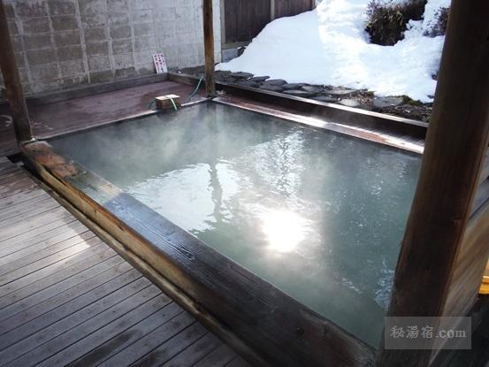 沼尻温泉 田村屋の露天風呂1