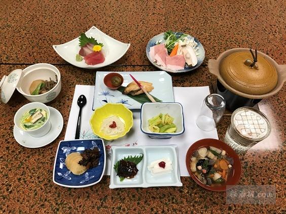 中ノ沢温泉 磐梯西村屋 宿泊 その2 お食事編