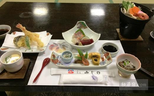 博多温泉 富士の苑 宿泊 その2 お食事編