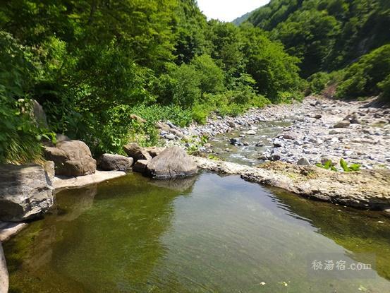 切明温泉 雄川閣 & 河原の湯 日帰り入浴 ★★★