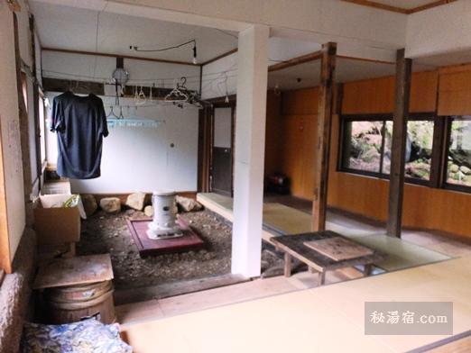 本沢温泉の乾燥室