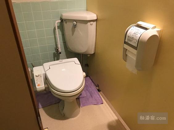 唐沢鉱泉 洋式トイレ