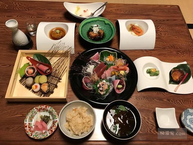 【伊豆下田】 河内温泉 金谷旅館 宿泊 その2 お食事編