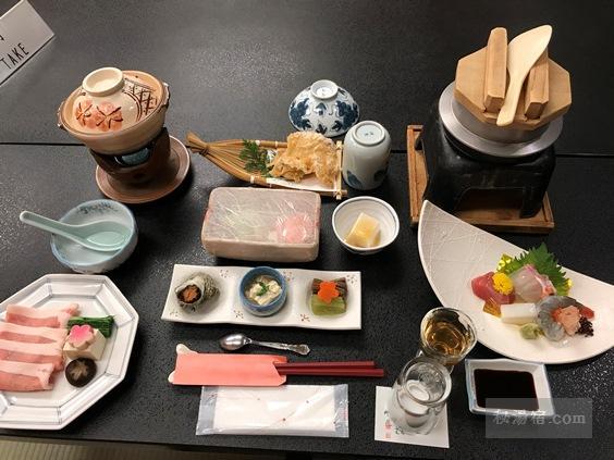 川湯温泉 冨士屋 宿泊レポ その2 お食事編