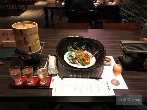 ホテル祖谷温泉 宿泊レポ その2 お食事編