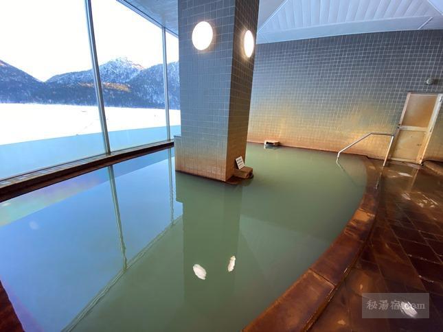 然別湖畔温泉 ホテル風水 宿泊 その3 お風呂編