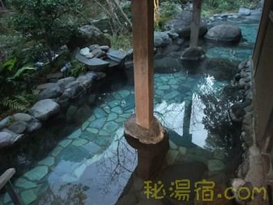 【静岡】湯ヶ島温泉 谷川の湯 あせび野 その3 お風呂編
