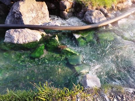 須川高原温泉2016-温泉川