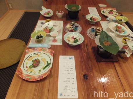 谷旅館の夕食1