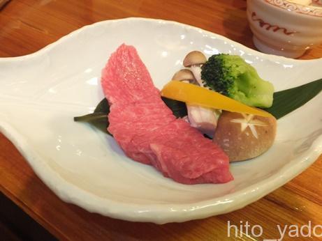谷旅館の夕食15