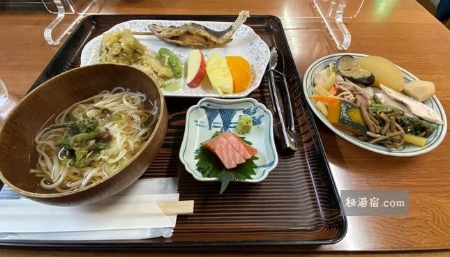 【岩手】藤七温泉 彩雲荘 宿泊 その2 お食事編