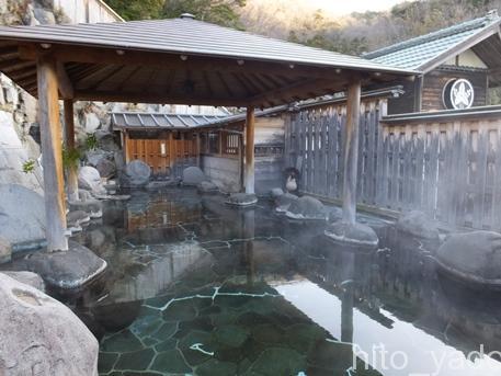 【静岡】西伊豆 桜田温泉 山芳園 宿泊 その3 お風呂編