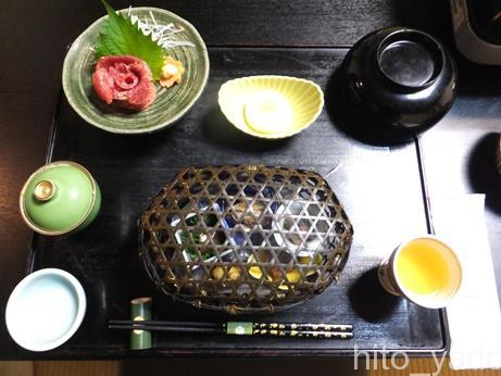 小梨の湯 笹屋 食事1
