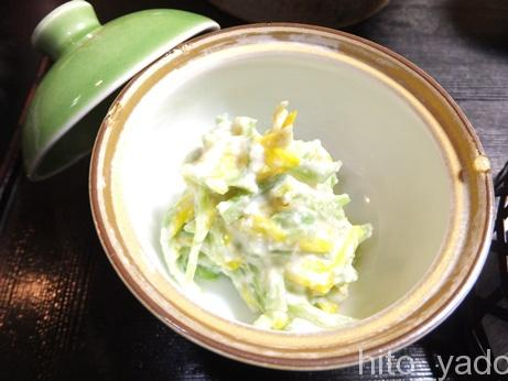 小梨の湯 笹屋 食事16