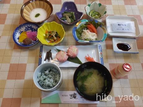 滝沢館-朝食1