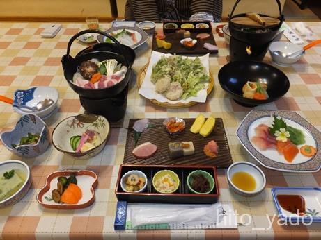 滝沢館-夕食1