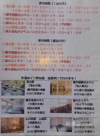 糠平温泉 中村屋-風呂100