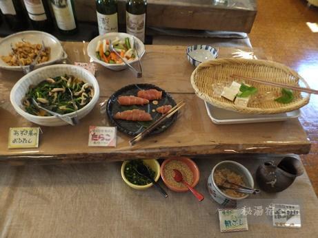 糠平温泉 中村屋-朝食5