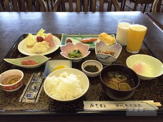 須川高原温泉2016朝食17