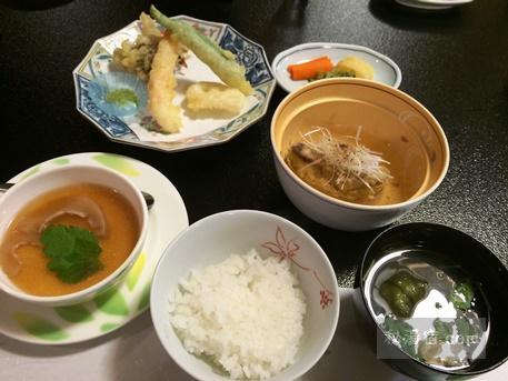 草津ホテル 夕食23
