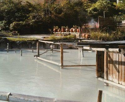 別府温泉保養ランドの混浴露天風呂