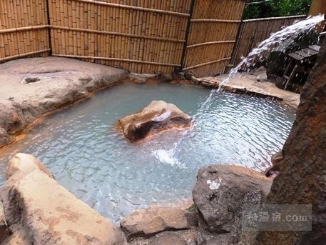 垂玉温泉の混浴露天風呂滝の湯