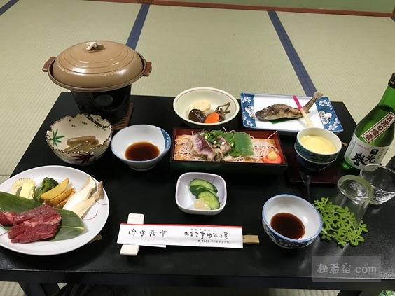 【栃木】平家平温泉 こまゆみの里 宿泊 その2 お食事編