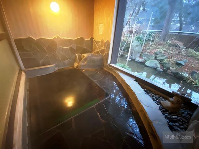 越後田中温泉 しなの荘 宿泊 その3 お風呂編
