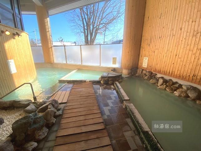 【北海道】川湯温泉 お宿 欣喜湯 宿泊 その3 お風呂編
