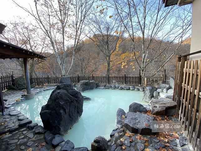 【岩手】松川温泉 峡雲荘 宿泊 その3 お風呂編