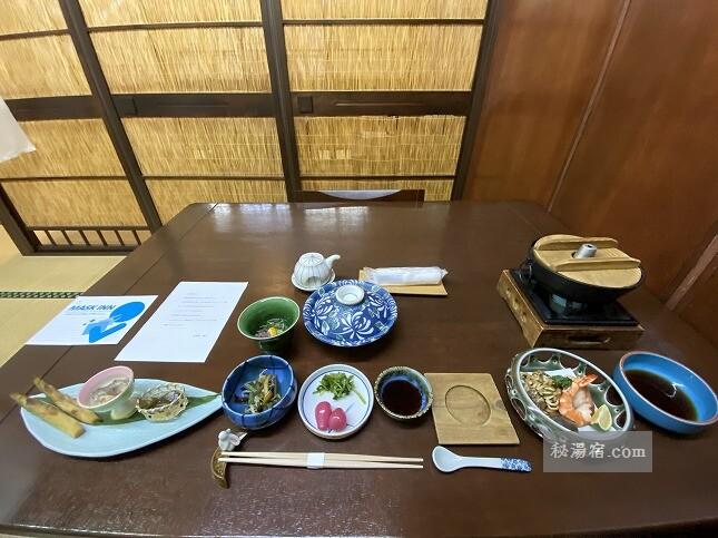 【福島】高湯温泉 吾妻屋 宿泊 その2 お食事編